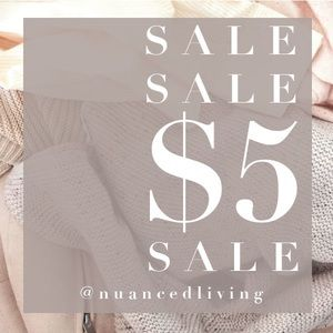 💕 $5 & $10 SALE - now for a limited time!